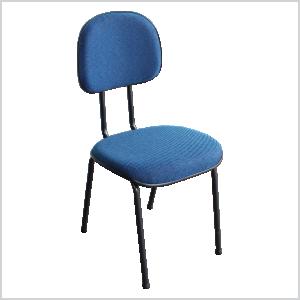 Cadeira anatômica palito na cor azul
