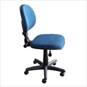 Cadeira back system na cor azul