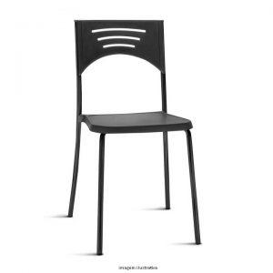 Cadeira Bliss na cor preta