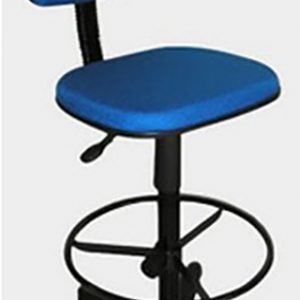 Cadeira caixa comum na cor azul