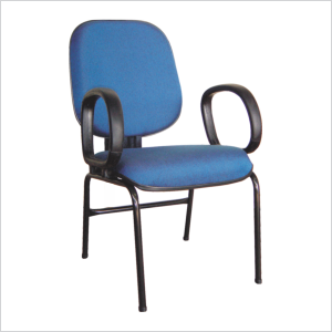 Cadeira diretor palito com braço corsa