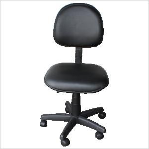 Cadeira executiva na cor preta