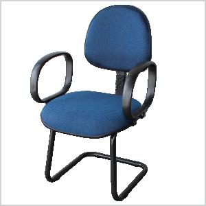 Cadeira executiva continua com braço corsa